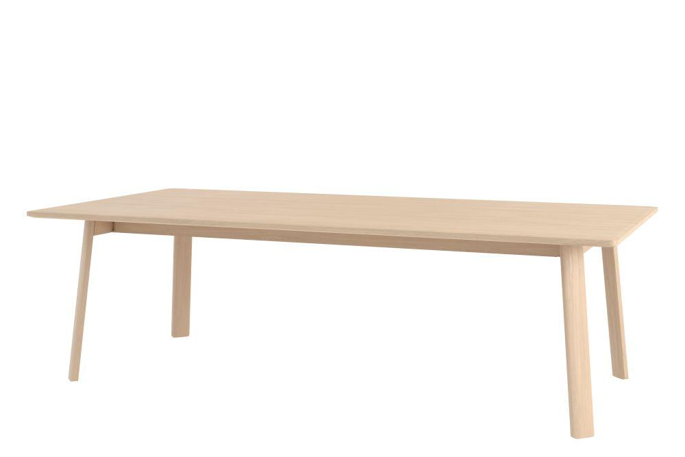 Solid Oak - Natural Oak, 300 cm,Hem,Office Tables & Desks,coffee table,desk,furniture,outdoor table,plywood,rectangle,table