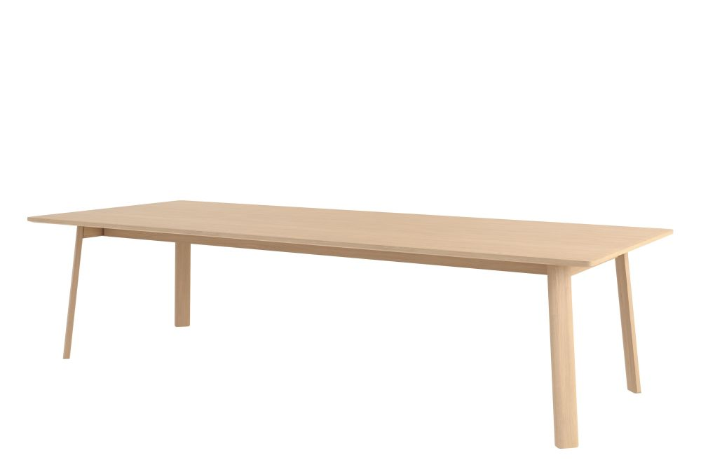 Solid Oak - Natural Oak, 250 cm,Hem,Office Tables & Desks,coffee table,desk,furniture,outdoor table,plywood,rectangle,table