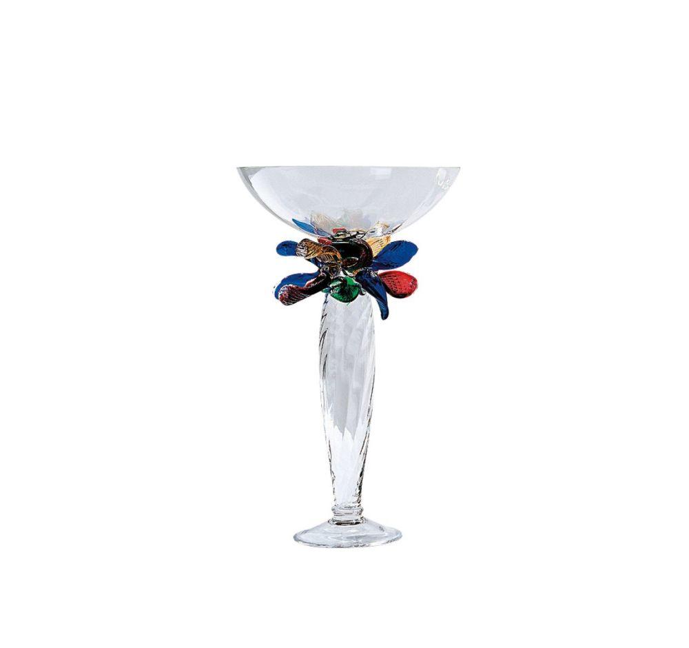 Glass,Driade,Glassware,champagne stemware,drinkware,glass,martini glass,stemware,tableware,turquoise