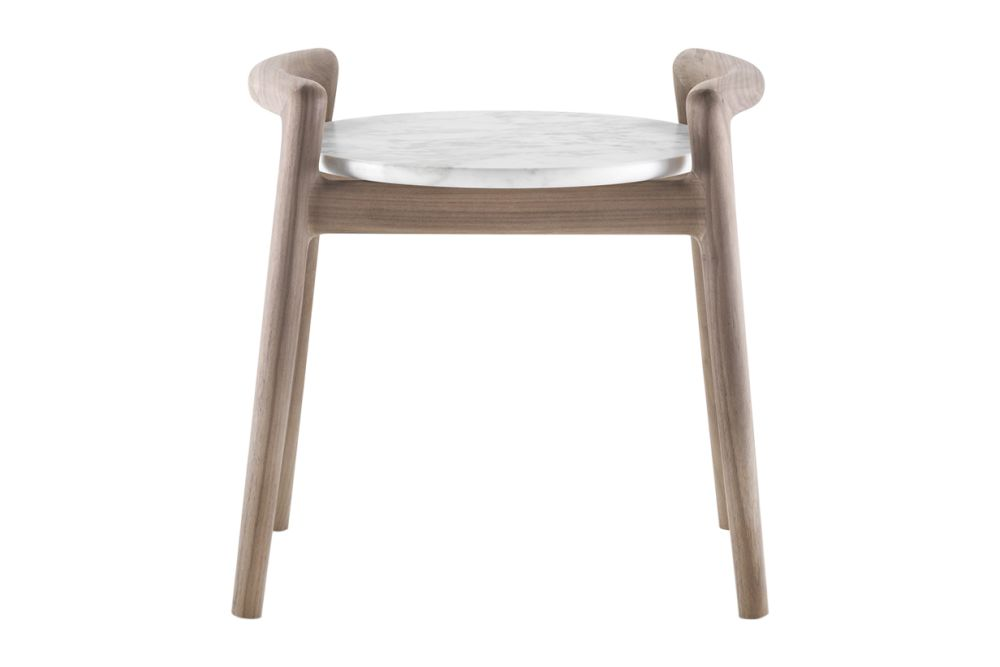 Marble Calacatta Oro Matt, Wood Finishes Ashwood Stained Coffee, 60,Flexform,Coffee & Side Tables,chair,furniture,stool,table