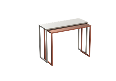 White - 01 RAL 9016,Matière Grise,Console Tables,desk,furniture,outdoor table,sofa tables,table