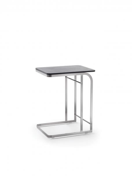 Black Chrome, Scratch-resistant White,Flexform,Coffee & Side Tables,coffee table,end table,furniture,stool,table