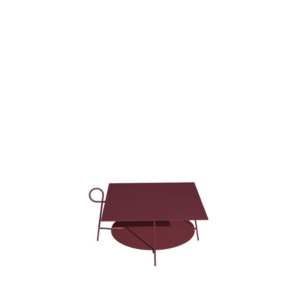 Nude,Driade,Coffee & Side Tables,maroon,table,violet