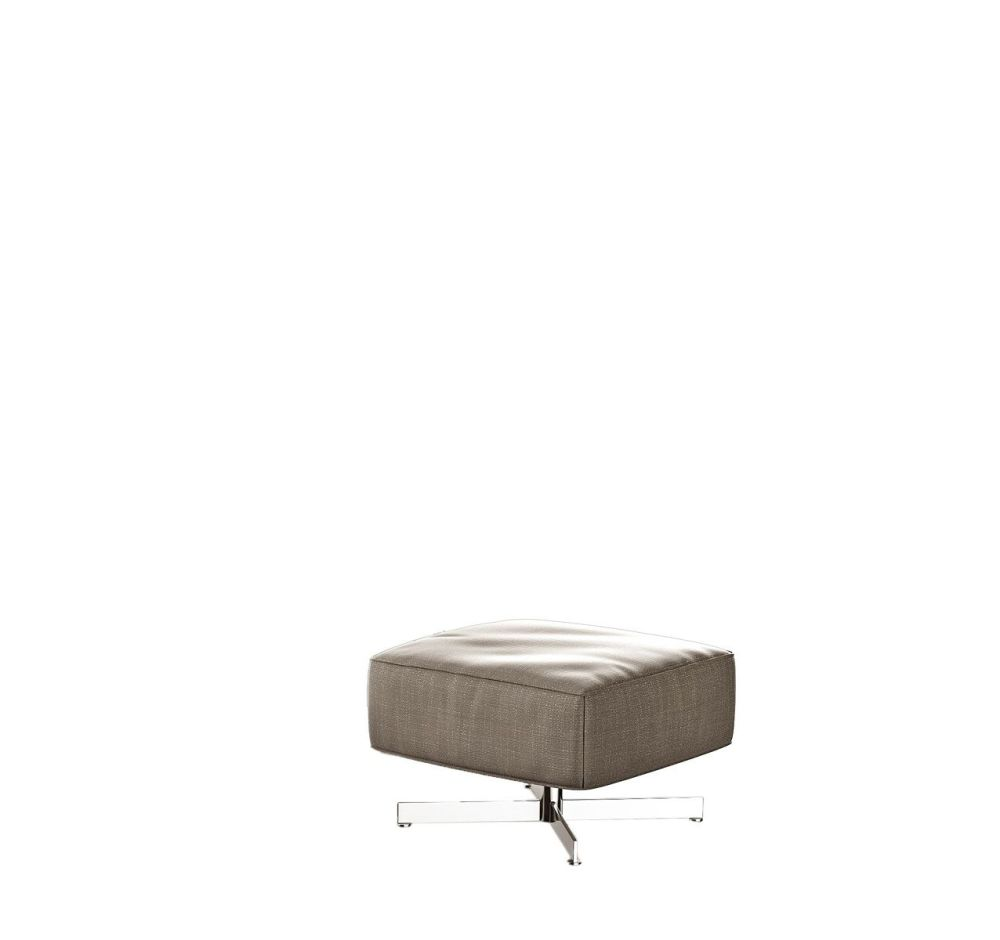 Cairo - Bianco 01,Driade,Footstools,beige,coffee table,furniture,ottoman,rectangle,table