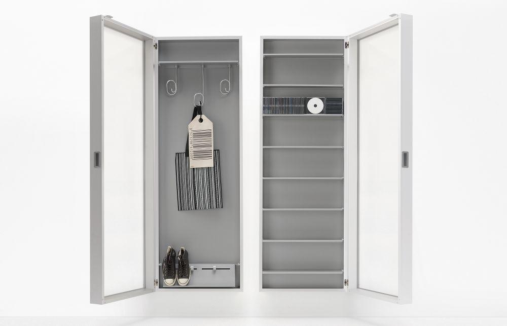 Anodised Aluminium,Kristalia,Storage Furniture,cupboard,door,furniture,room