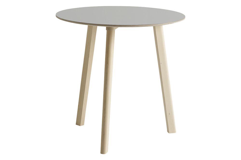 Laminate Dusty Grey / Wood Matt Oak, 75cm,Hay,Dining Tables,furniture,outdoor table,stool,table