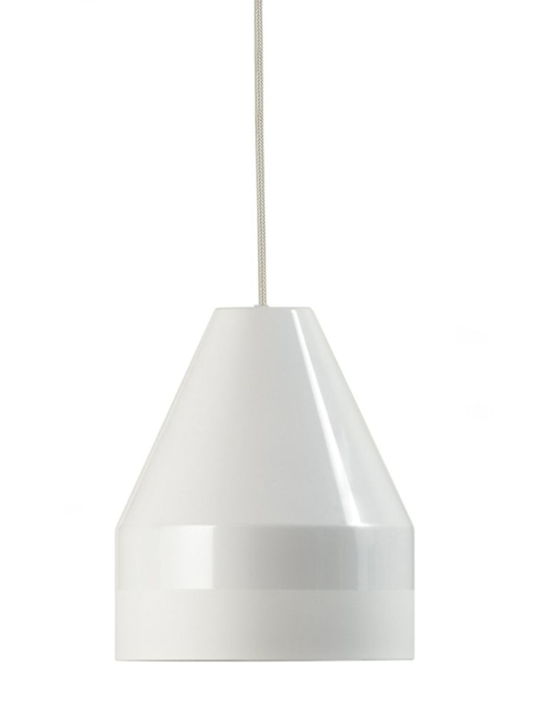 White, H15 Ø13 cm,Dyberg Larsen,Pendant Lights,ceiling,ceiling fixture,lamp,lampshade,light fixture,lighting,lighting accessory