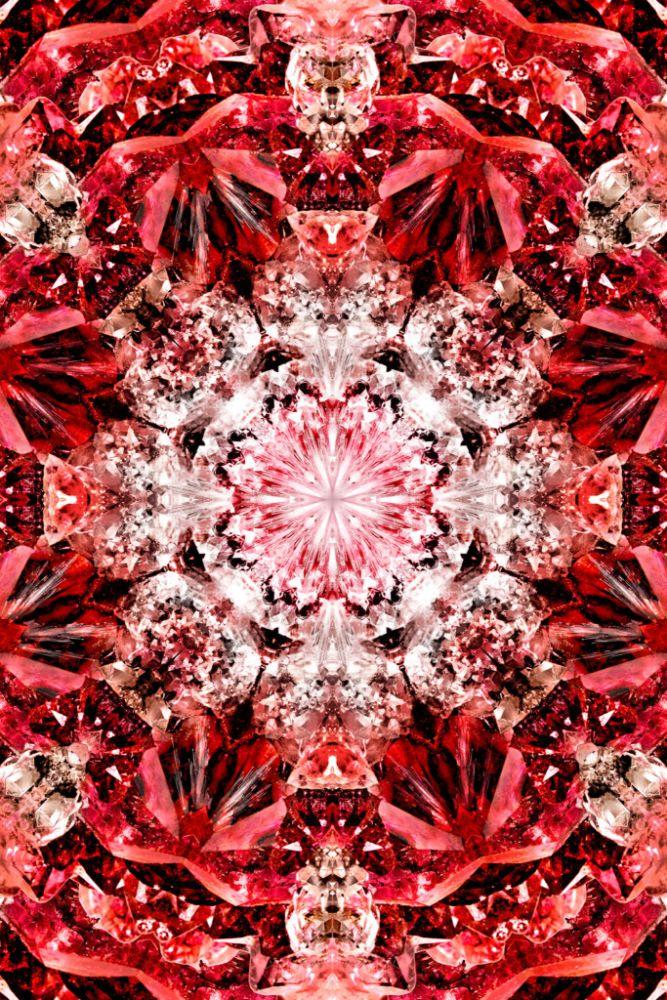 Polyamide,Moooi Carpets,Rugs,design,kaleidoscope,pattern,red,symmetry