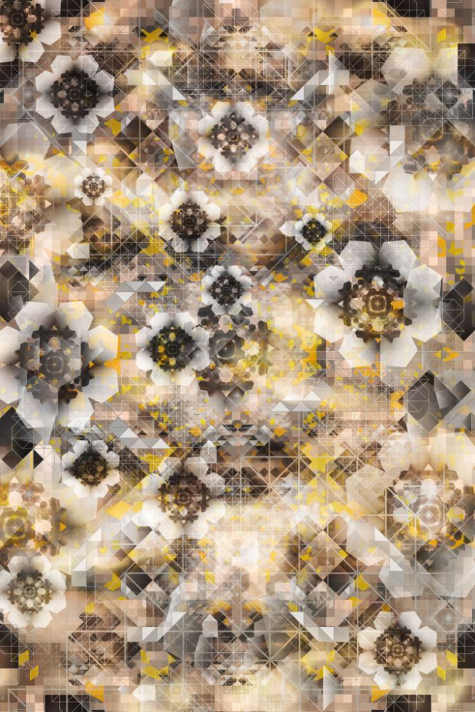 Glow, 200 x 300 cm, Polyamide,Moooi Carpets,Rugs,design,pattern,yellow
