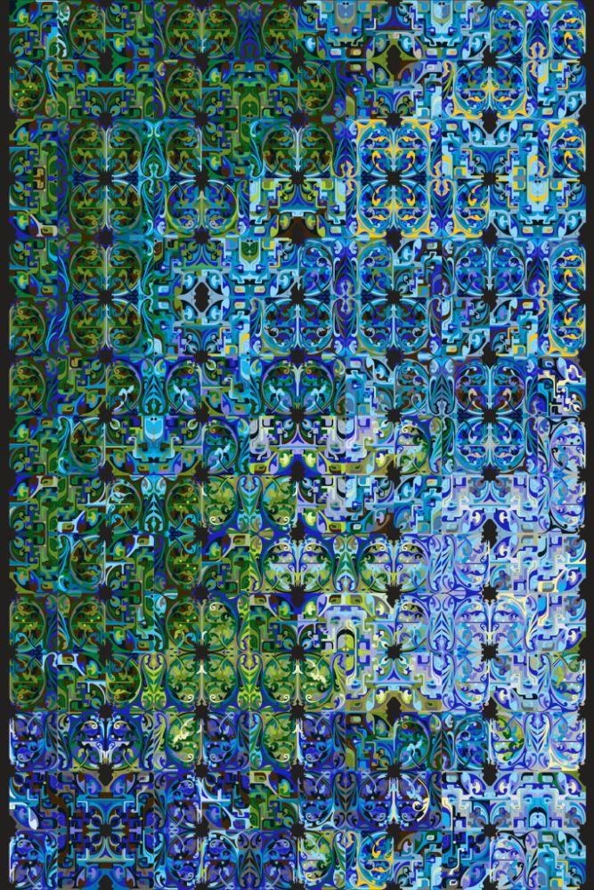 Polyamide,Moooi Carpets,Rugs,blue,majorelle blue