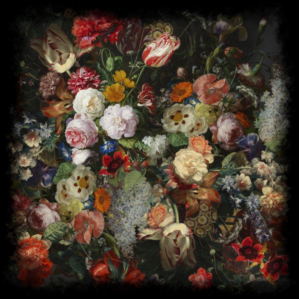 250 x 250 cm, Wool,Moooi Carpets,Rugs,art,artwork,garden roses,modern art,painting,rose,still life,still life photography,textile