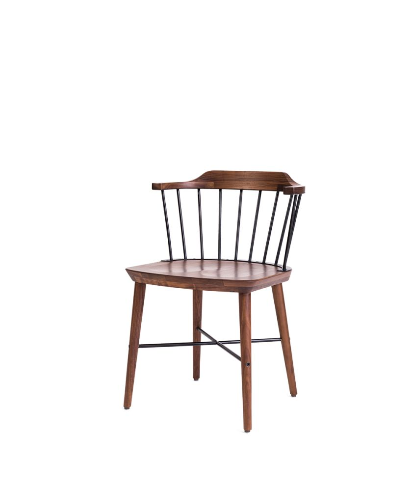 Wood Natural Walnut,Stellar Works,Dining Chairs,chair,furniture,table
