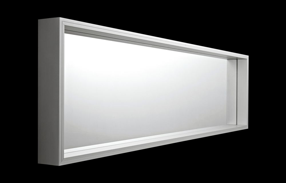 Anodised aluminium, 50 x 185 x 10,Kristalia,Mirrors,rectangle