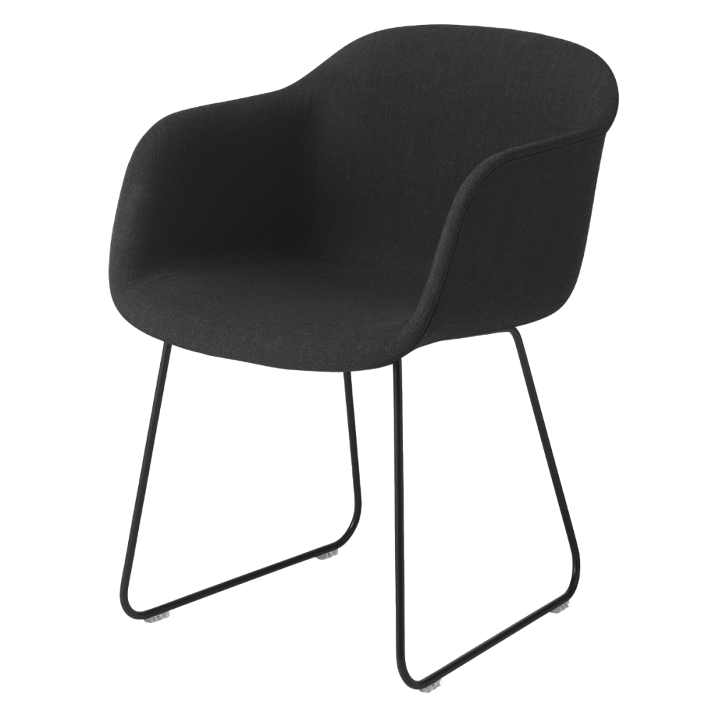 Wooly by Nevotex Black,Muuto,Armchairs,chair,furniture