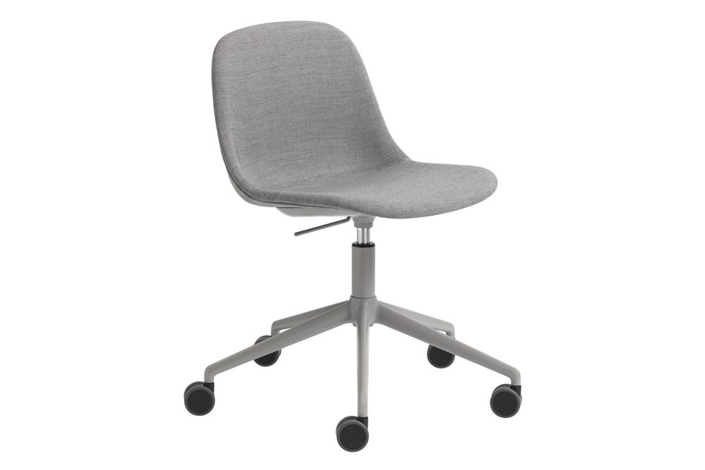 Endure Leather Natural White,Muuto,Office Chairs,chair,furniture,line,material property,office chair,product