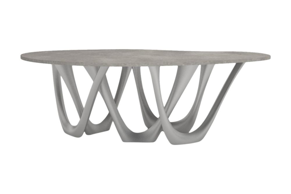 Polished Steel,Zieta,Dining Tables,coffee table,end table,furniture,outdoor table,table