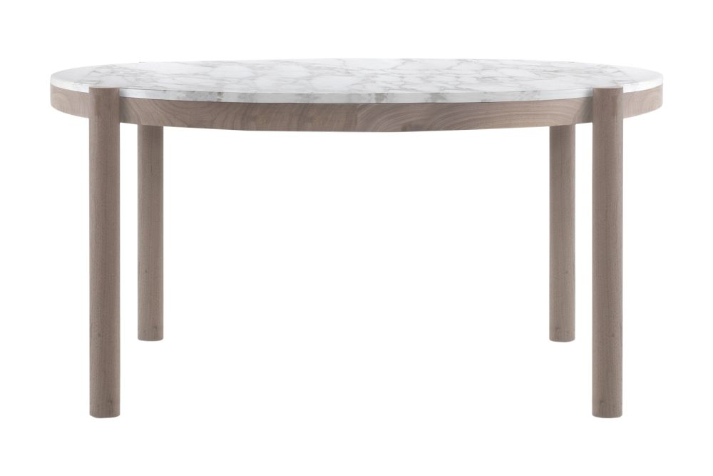 Marble Carrara, Wood Finishes Ashwood Stained Coffee, 134,Flexform,Dining Tables,coffee table,end table,furniture,outdoor table,stool,table