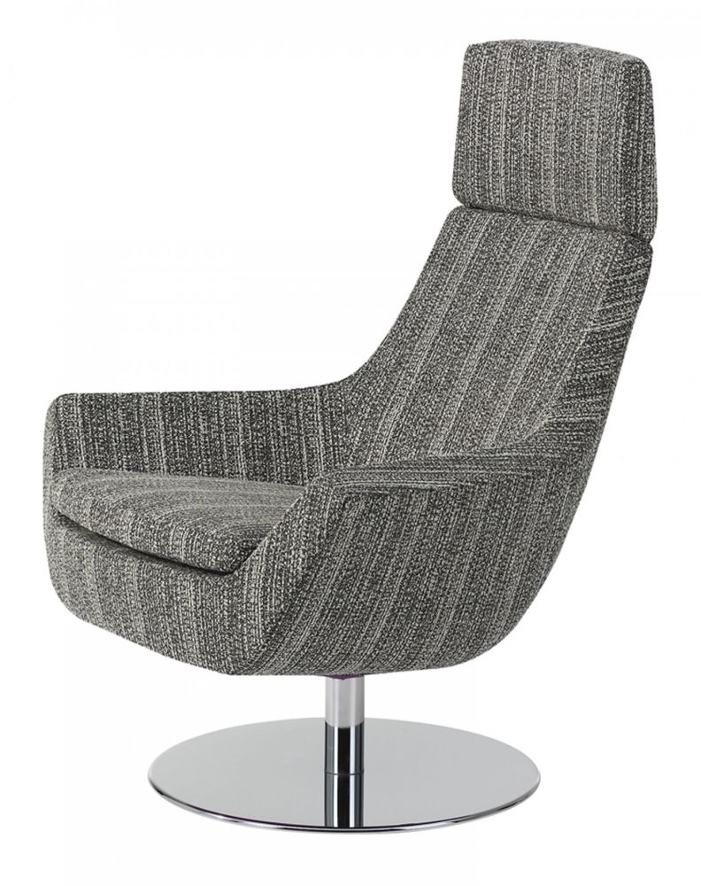 Main Line Flax Newbury, White Steel, Without rocking mechanism,Swedese,Lounge Chairs,chair,furniture