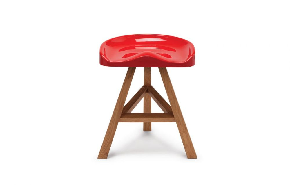 Black,Established & Sons,Stools,bar stool,furniture,red,stool
