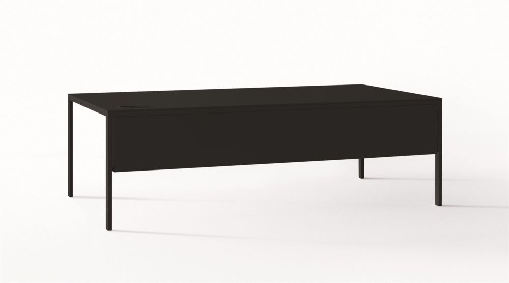 B59 Matt Black, D41 Fenix Black, 90 x 299,Desalto,Dining Tables,coffee table,furniture,rectangle,sofa tables,table