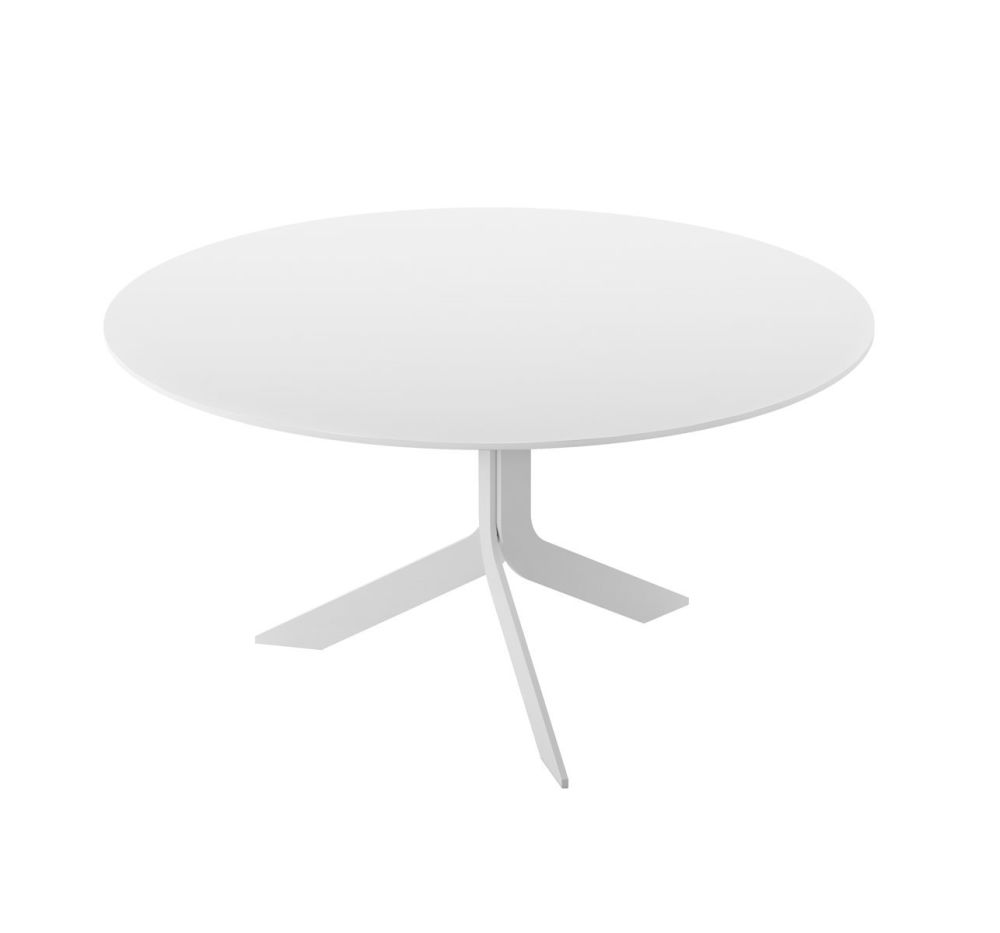 B62 Matt White, E65 Europa Grey, 160,Desalto,Dining Tables,coffee table,furniture,material property,table,white