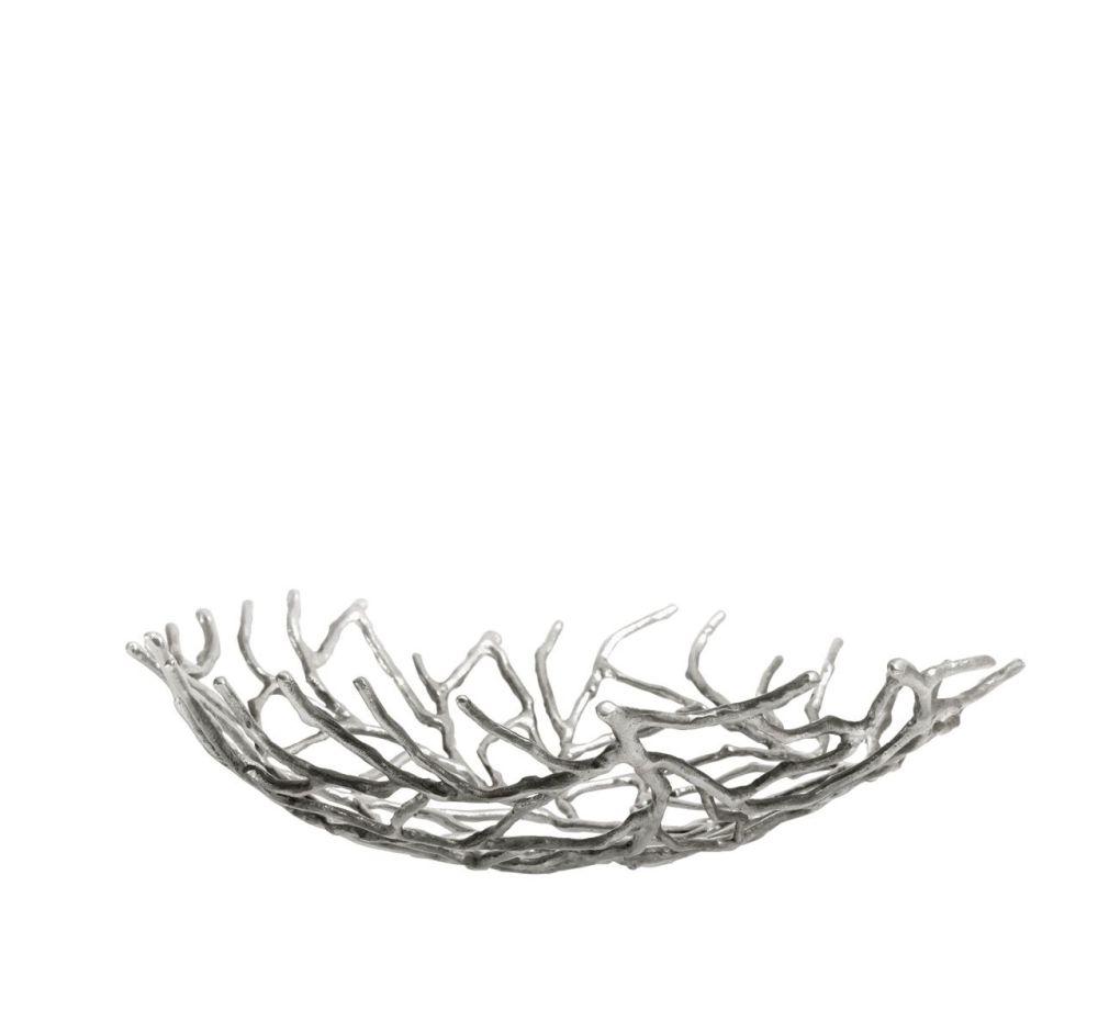 Silver,Driade,Decorative Accessories,bowl,leaf