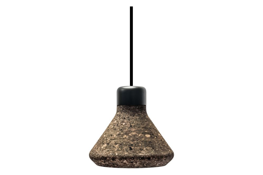 Natural Cork & Black Metal Top,Mater,Pendant Lights,lamp,light fixture,lighting