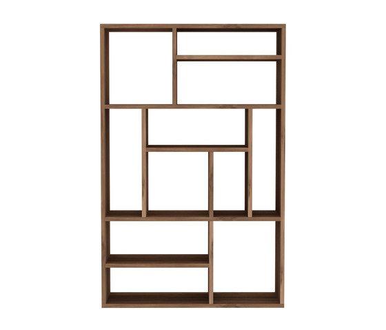 90 x 30 x 139 cm, Oak,Ethnicraft,Bookcases & Shelves,furniture,shelf,shelving