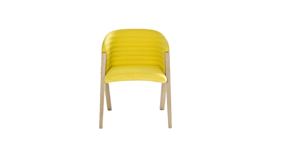 A0867 - Divina 3 623 red, Oak Natural,Moroso,Stools,chair,furniture,yellow