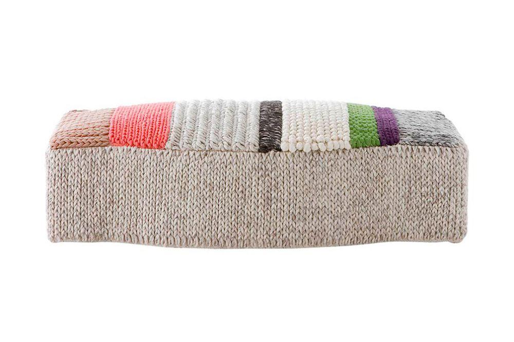 GAN,Footstools,beige,furniture,rectangle,wool