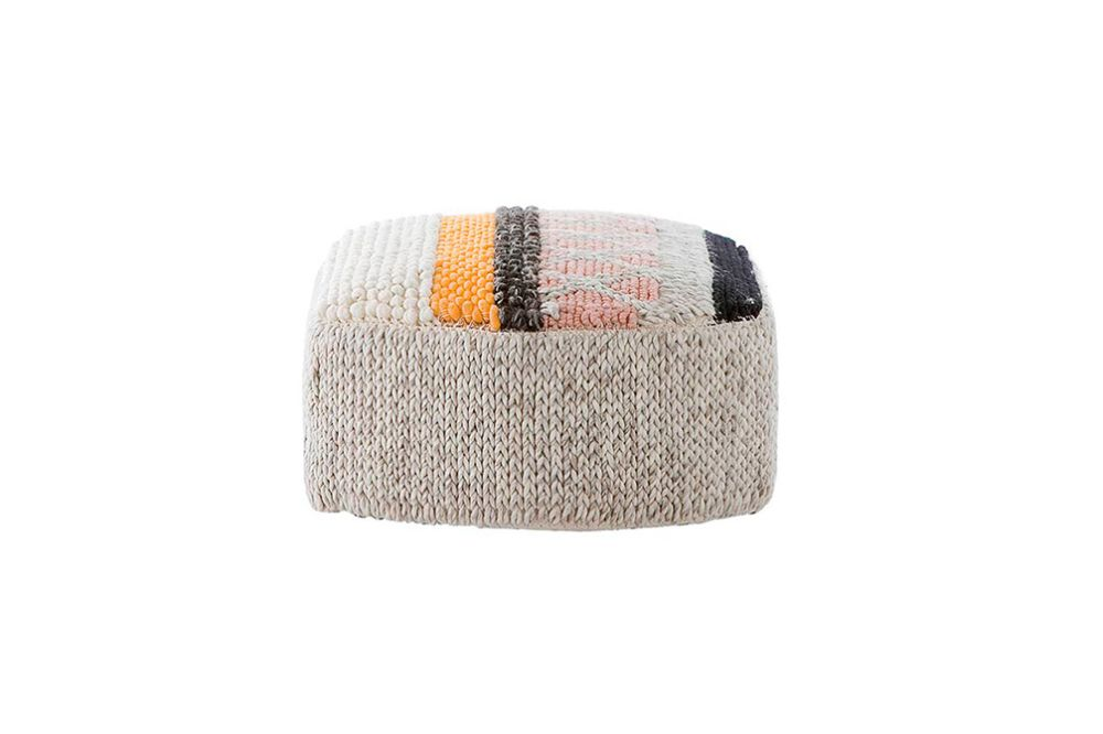 GAN,Footstools,beanie,beige,bonnet,cap,clothing,headgear,knit cap,orange,wool