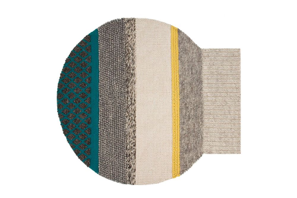 225x245 cm,GAN,Workplace Rugs,aqua,beige,brown,green,pattern,rectangle,teal,textile,turquoise,yellow