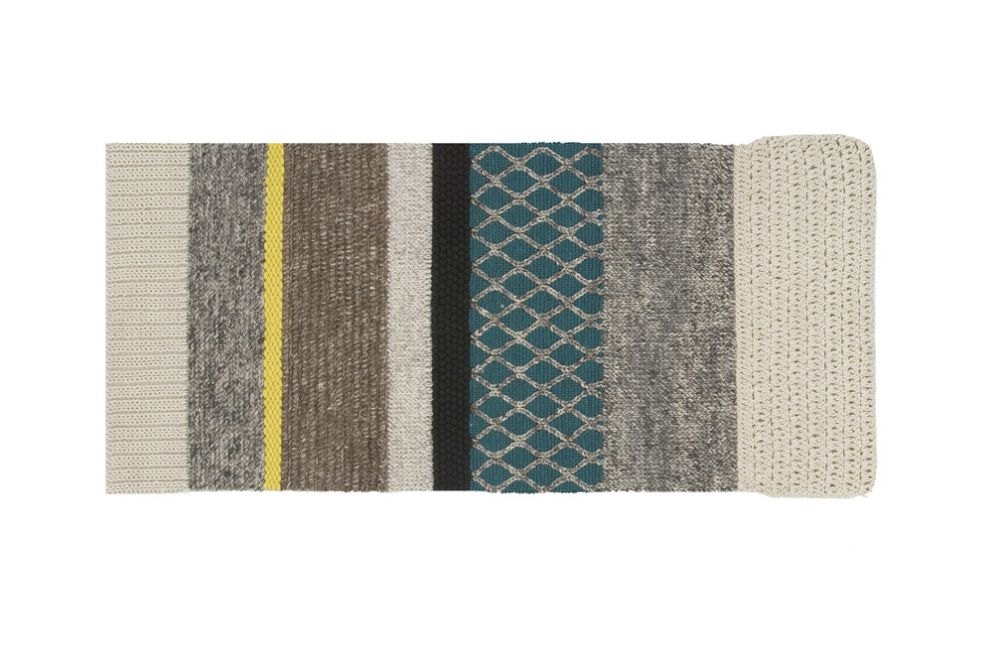 145x300 cm,GAN,Rugs,aqua,beige,brown,green,mat,placemat,rectangle,teal,textile,turquoise