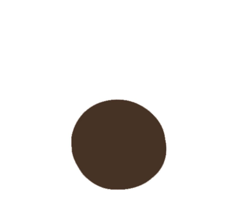 beige,brown,circle