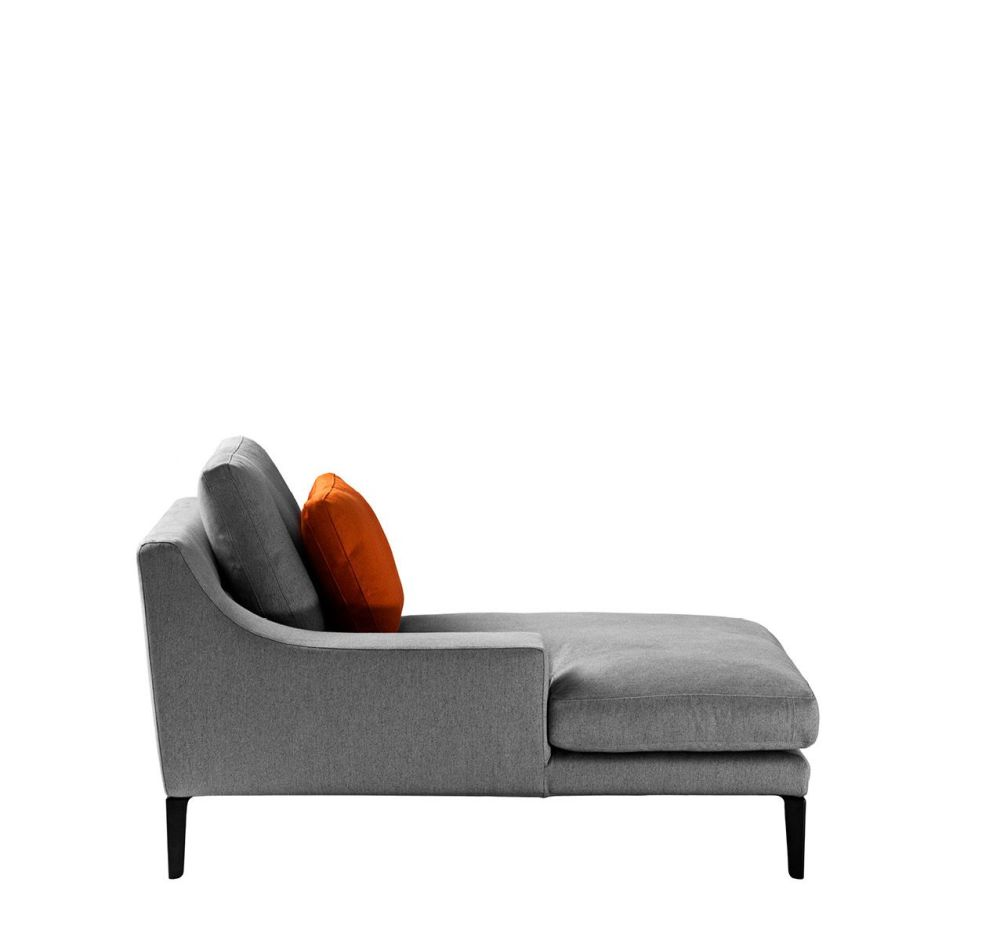 Right, Cairo - Bianco 01,Driade,Sofas,chair,chaise longue,comfort,couch,furniture,orange,sofa bed,studio couch