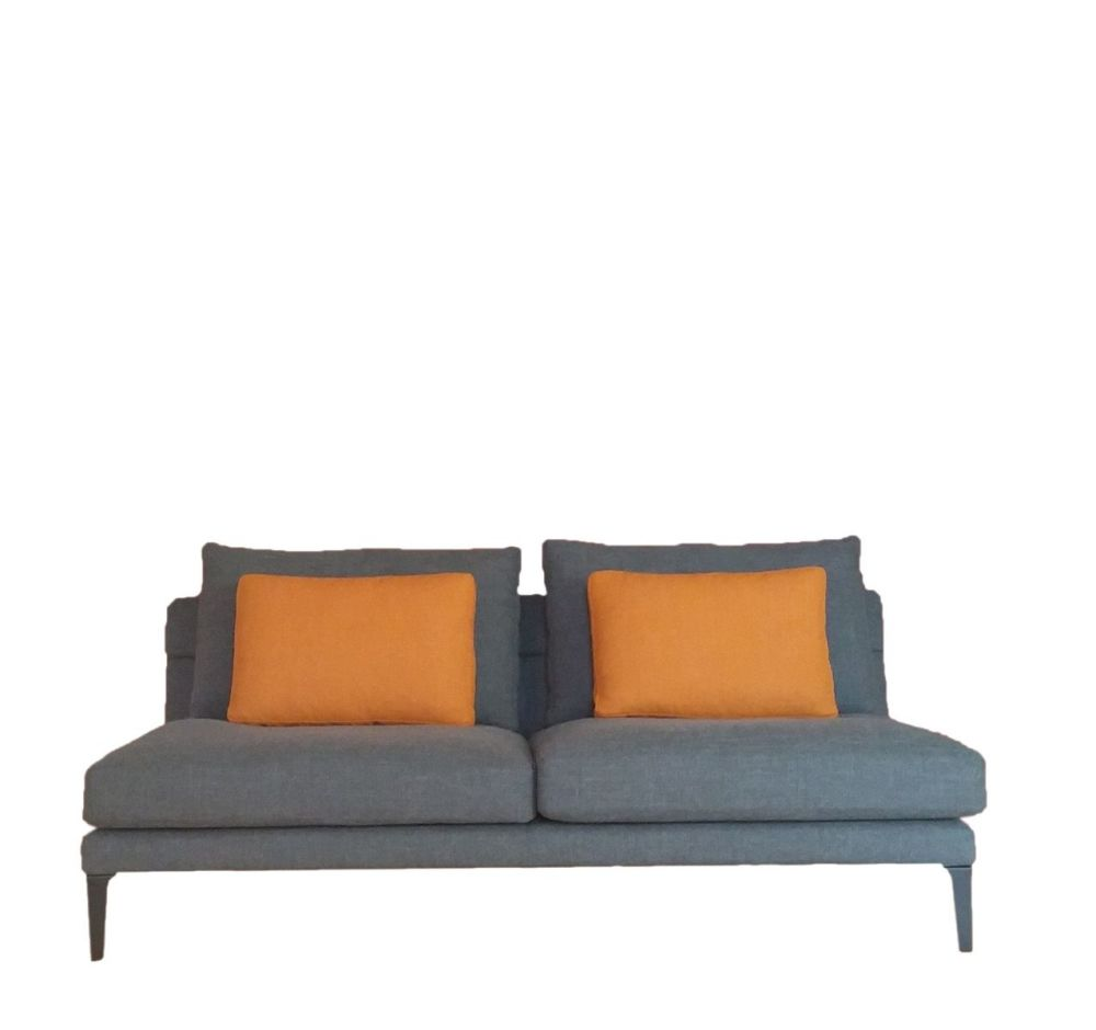 Cairo - Bianco 01,Driade,Sofas,couch,furniture,orange,room,sofa bed,studio couch,yellow
