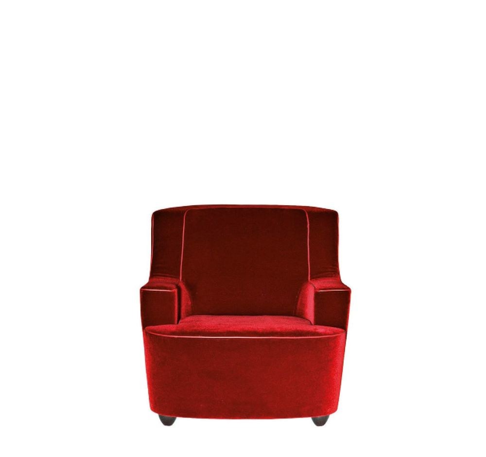 Cairo - Bianco 01,Driade,Armchairs,chair,club chair,furniture,leather,red