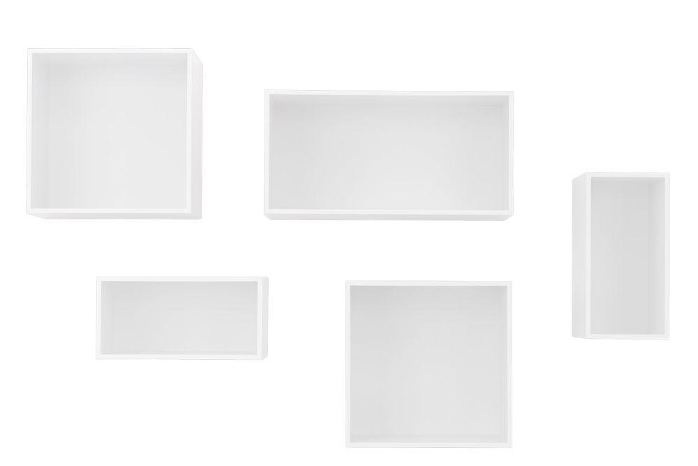 White,Muuto,Bookcases & Shelves,rectangle,white