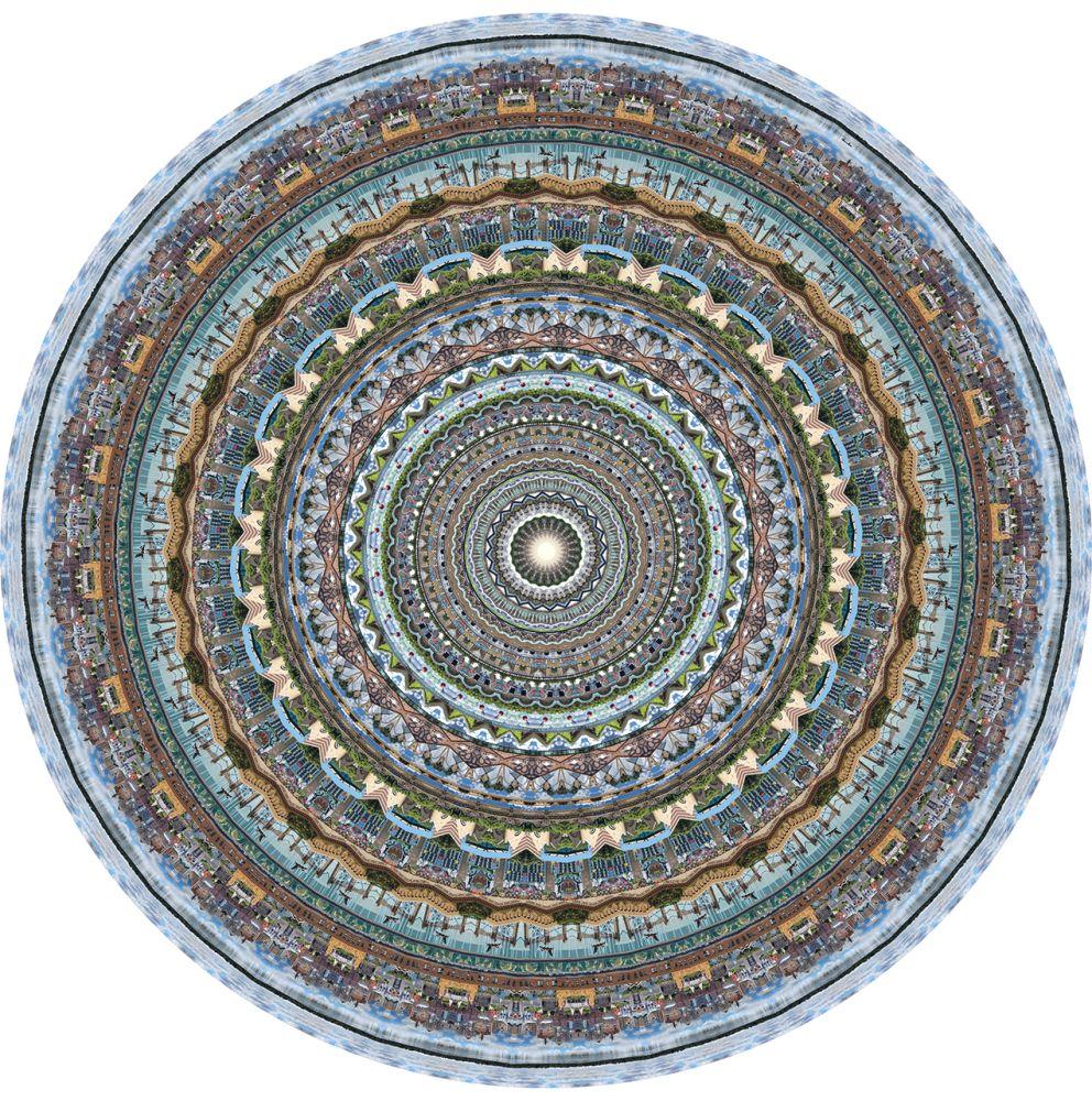 Ø350 cm, Polyamide,Moooi Carpets,Rugs,circle,symmetry