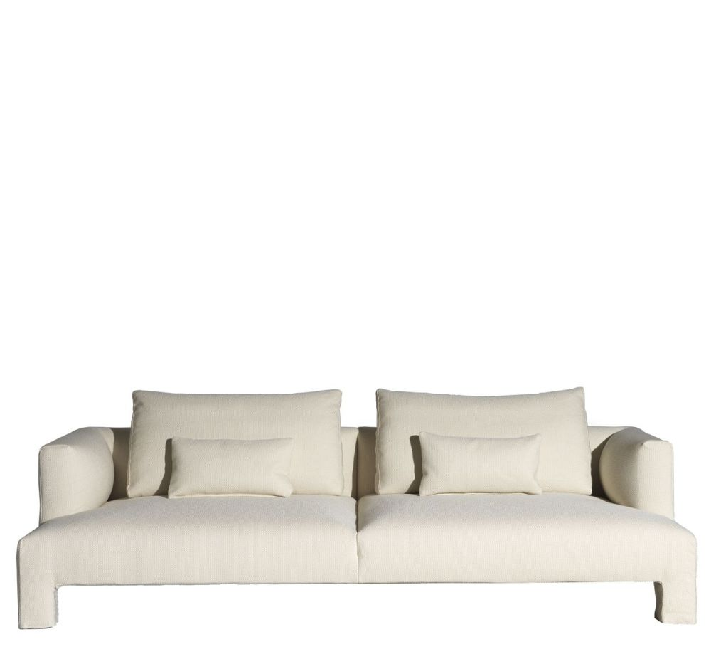 Cairo - Bianco 01,Driade,Sofas,beige,couch,furniture,room,sofa bed,studio couch