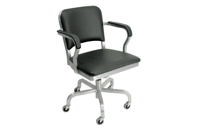 Hand Brushed,Emeco,Armchairs,armrest,chair,furniture,line,material property,office chair