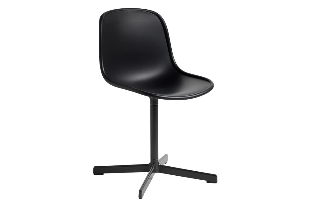 Plastic Bordeaux / Metal Polished Aluminium,Hay,Office Chairs,chair,furniture,line,material property,office chair,plastic,product