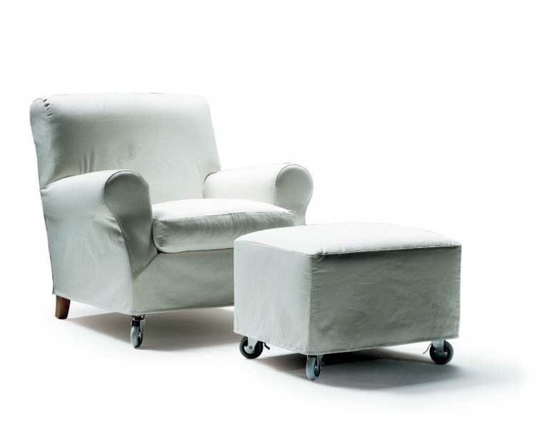 Sable 1640, Wood Finishes Noce Canaletto,Flexform,Footstools,chair,club chair,furniture,product,sleeper chair