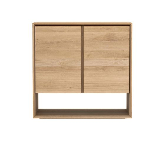 4 Doors - 210 x 45 x 78 cm,Ethnicraft,Cabinets & Sideboards,chest of drawers,cupboard,drawer,furniture,shelf,sideboard,table,wood