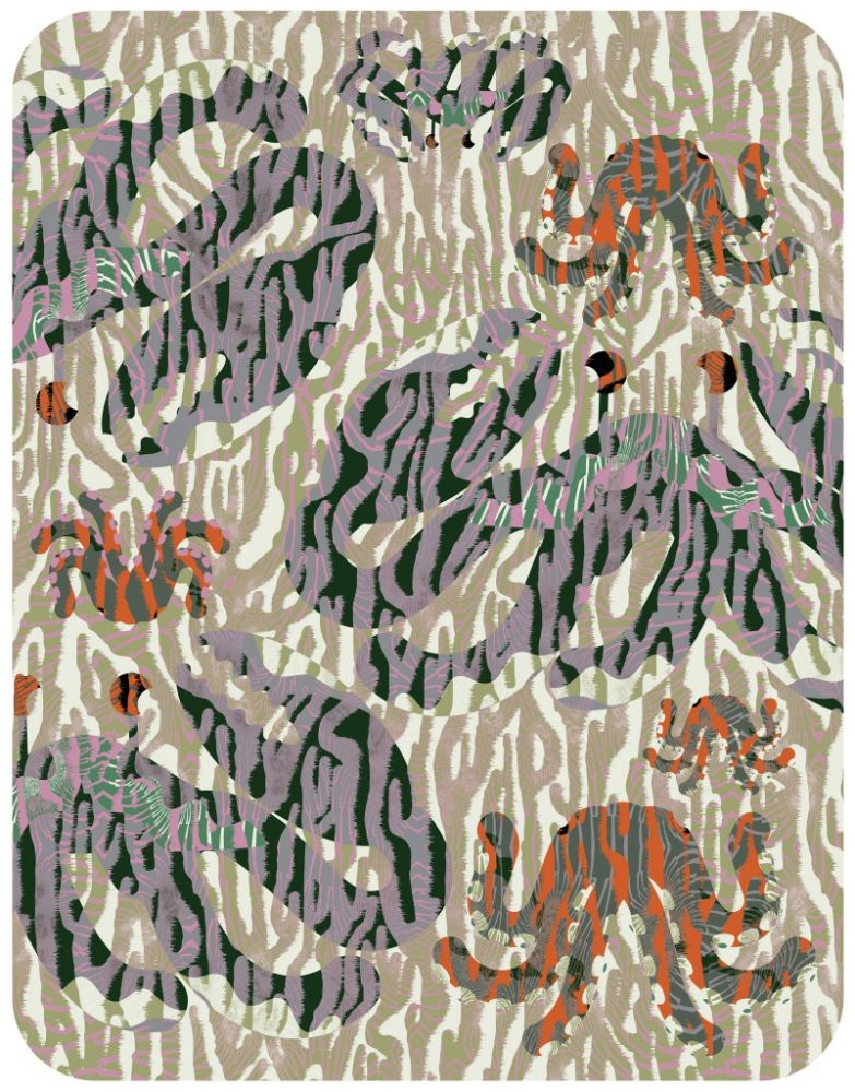 Polyamide,Moooi Carpets,Rugs,pattern