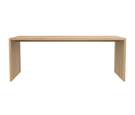 Oak, 172 x 80 x 75 cm,Ethnicraft,Dining Tables,coffee table,desk,furniture,outdoor table,rectangle,sofa tables,table