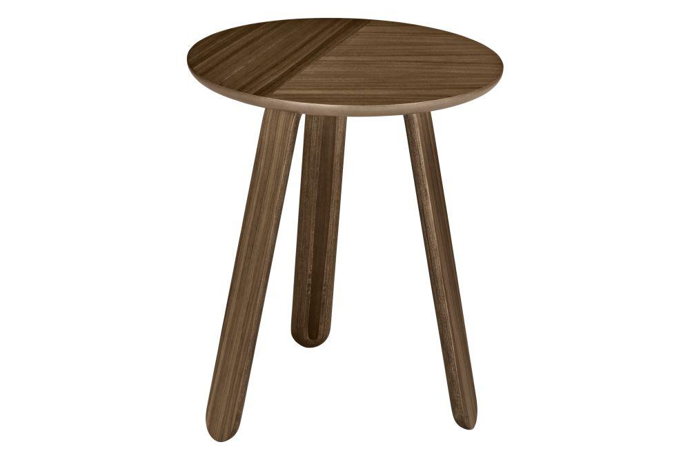 Gubi Wood Oak, Ø42,GUBI,Coffee & Side Tables,bar stool,coffee table,furniture,outdoor furniture,outdoor table,stool,table,wood