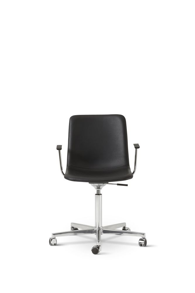 Chrome Steel, Remix 2 113,Fredericia,Office Chairs,chair,furniture,office chair