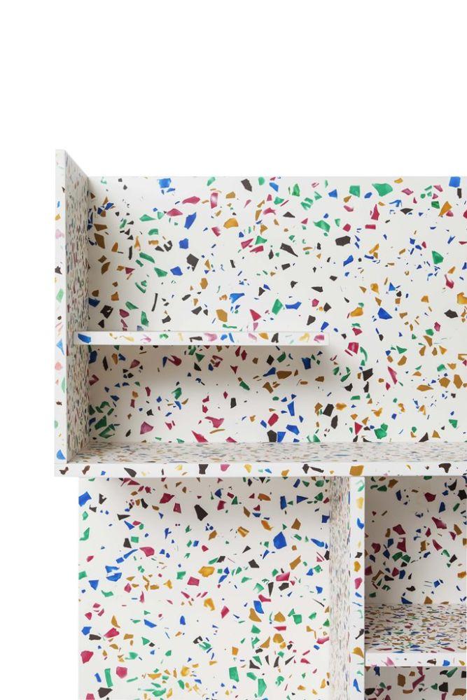 090 Terrazzo,Cappellini,Bookcases & Shelves,textile