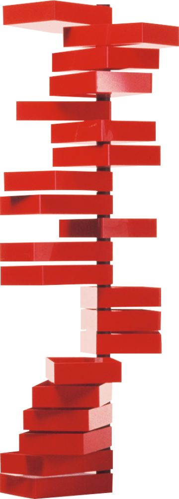 Red polish,Cappellini,Chest of Drawers,line,rectangle,red